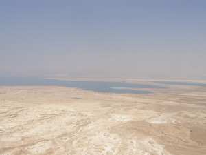 Dead Sea Area where Sodom and Gomorrah are believed to have been located